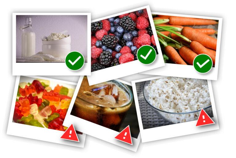 Alimentația și sănătatea dentară